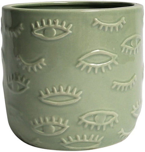 Eye Planter - Mint