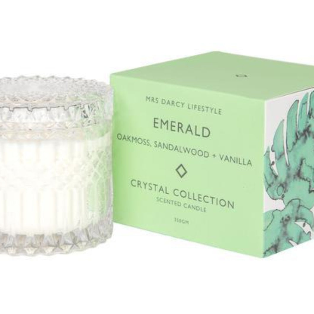Mrs Darcy Candle - Emerald