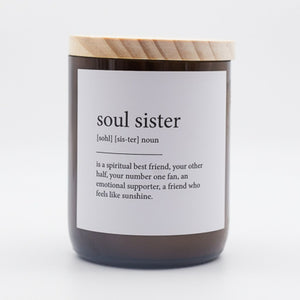Dictionary  Candle - Soul Sister