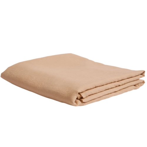 Linen Fitted Sheet - Cashew