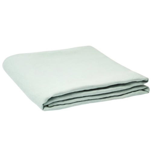 Linen Fitted Sheet - Moonlight