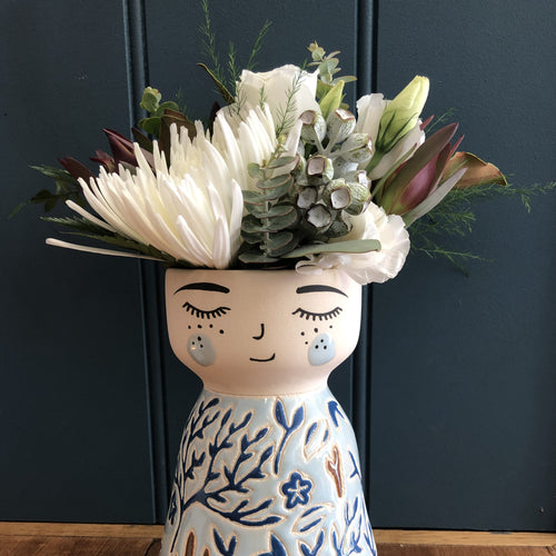 Flower Posie for Face Vase