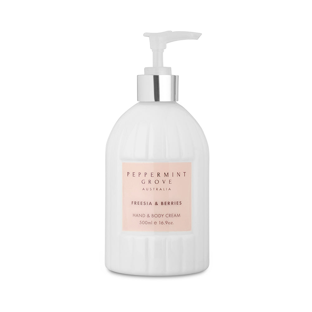 Peppermint Grove Hand and Body Cream - Freesia and Berry