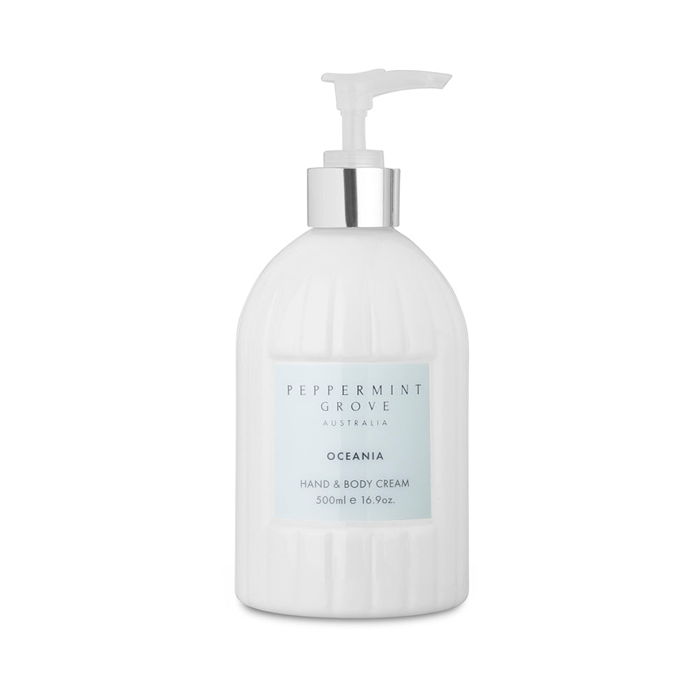 Peppermint Grove Hand and Body Cream - Oceania