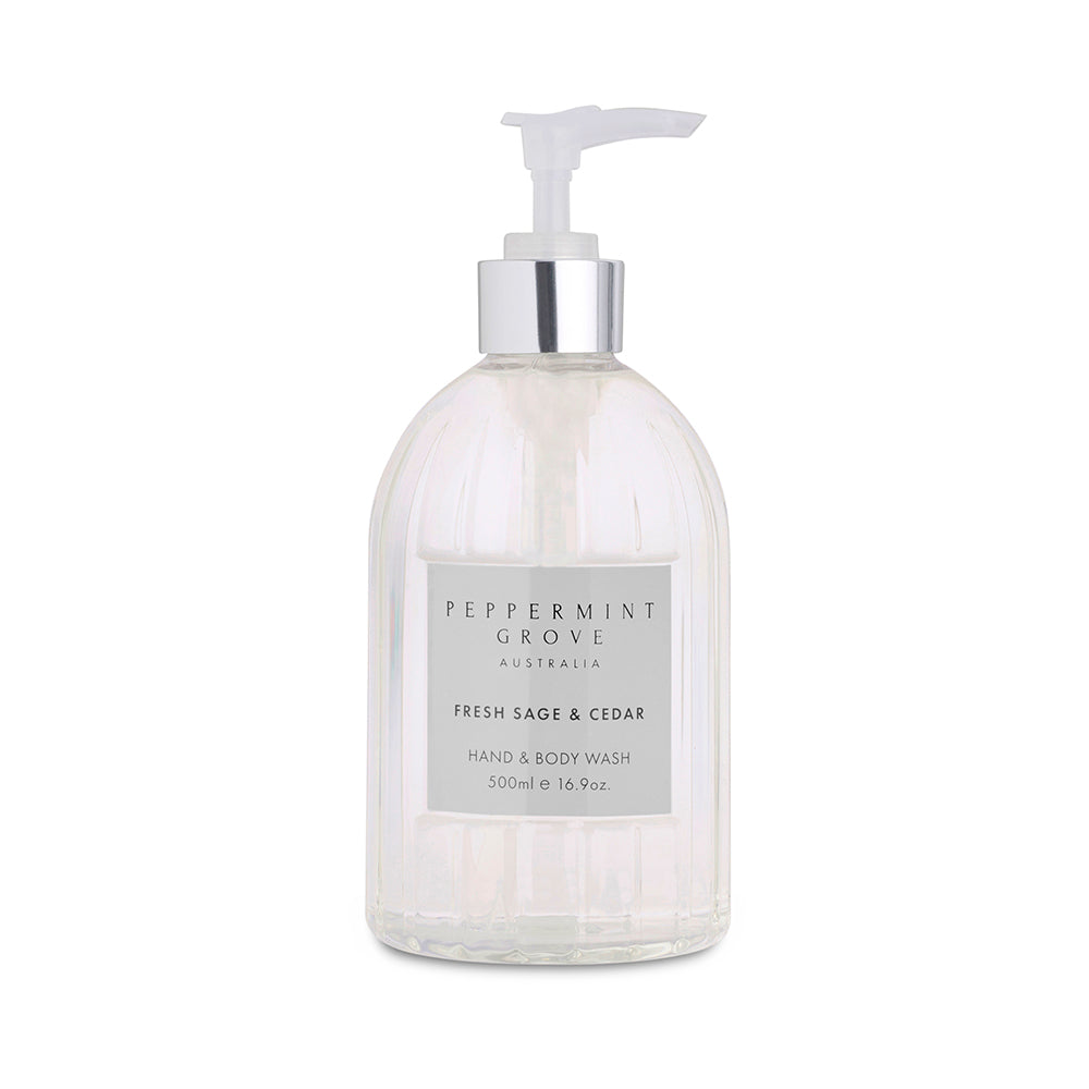 Peppermint Grove Hand and Body Wash - Sage and Cedar
