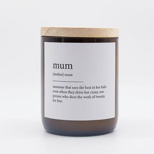 Dictionary  Candle - Mum