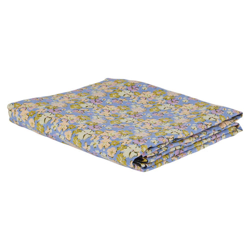 Loveat Linen Fitted Sheet - Cornflower