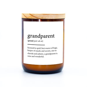 Dictionary Candle - Grandparent