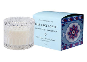 Mrs Darcy Candle - Blue Lace