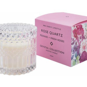 Mrs Darcy Candle - Rose Quartz