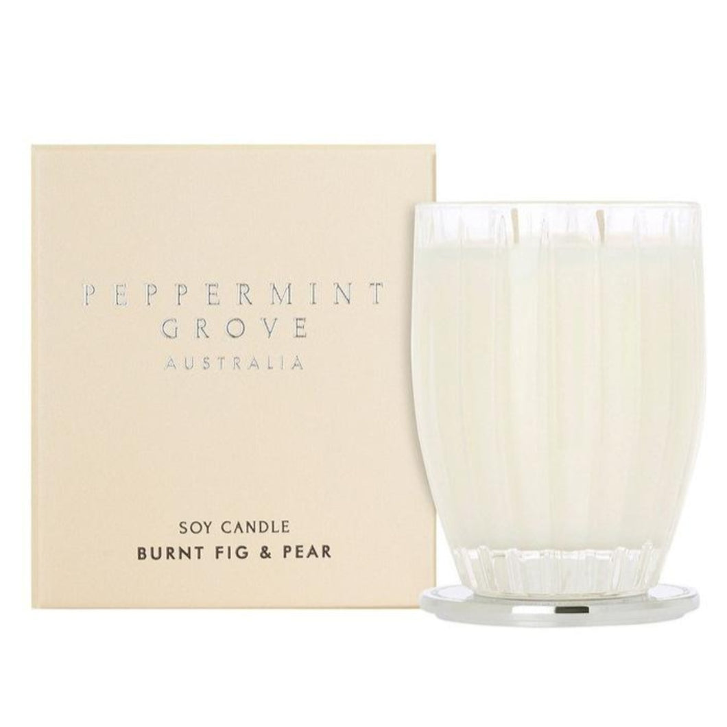 Peppermint Grove Candle - Burnt Fig and Pear