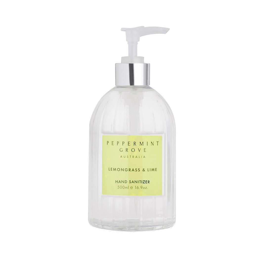 Peppermint Grove - Hand Sanitiser Lemongrass and Lime
