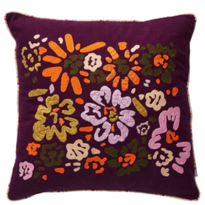 Sally Embroidered Cushion