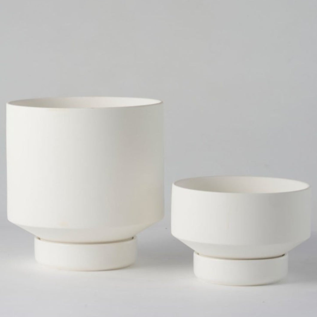 Collectors Gro Pot - White