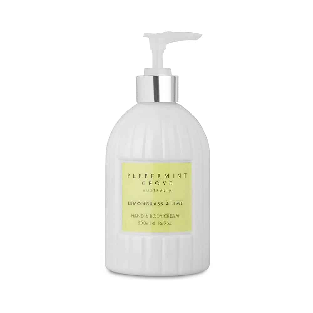 Peppermint Grove Hand and Body Cream - Lemongrass and Lime