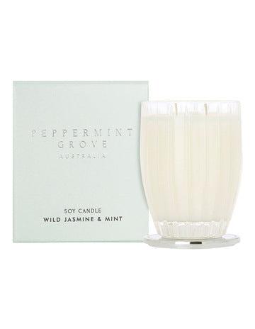 Peppermint Grove Candle - Wild Jasmine and Mint