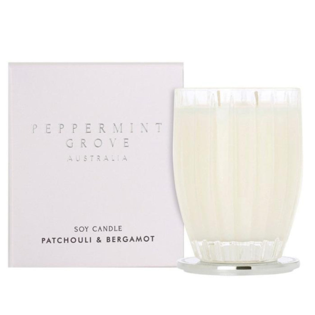 Peppermint Grove Candle - Patchouli and Bergamont