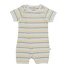 Zip Suit -  Banana Stripe