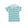 Polo Tee - Space Stripes