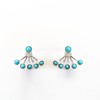 Turquoise Jacket Earrings