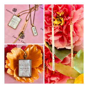 Affirmation Jewelry: Spreading Positivity Both Inward and Outward