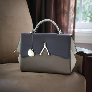 The Adaline Italian Leather Handbag
