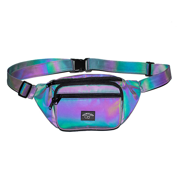 Iridescent Reflective Fanny Pack