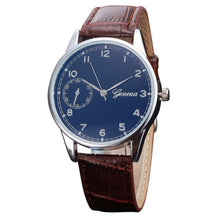Load image into Gallery viewer, Fashion Brand Luxury Casual Sport Watch Men Genuine Retro Design Leather Quartz Wrist Watch Male Watches Quartz-Watch