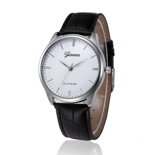 Mens Watches Fashion 2017 Casual PU Leather Quartz Watch Men Male Clock Wristwatches Relogio Masculino