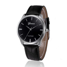 Load image into Gallery viewer, Mens Watches Fashion 2017 Casual PU Leather Quartz Watch Men Male Clock Wristwatches Relogio Masculino