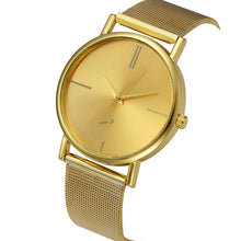 Load image into Gallery viewer, Womens Fashion Classic  Quartz Stainless Steel Wrist Watch