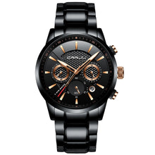 Load image into Gallery viewer, Full Steel Waterproof Chronograph Sports Watches