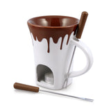 Swissmar Nostalgia 4 Pc Chocolate Fondue Mug Set Product Shot