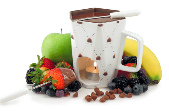 Swissmar Delight 4 Pc Chocolate Fondue Mug Set