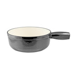 Swissmar Lugano Cast Iron Replacement Pot in Metallic Black Product Shot