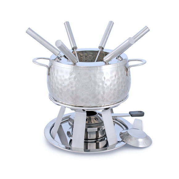 Swissmar Bienne 11 Pc Stainless Steel Fondue Set product shot