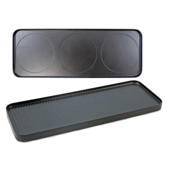 Swissmar Swivel Raclette Reversible Grill/Griddle Top Plate
