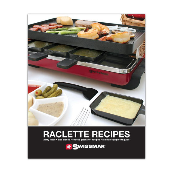 Swissmar Raclette Recipe Book Product Shot