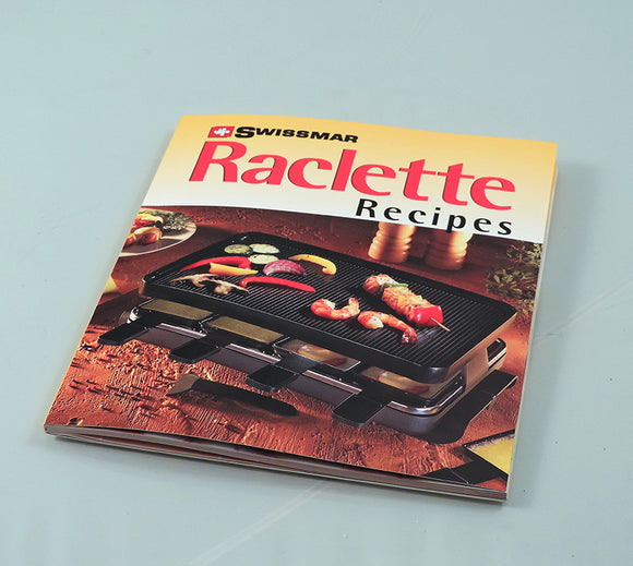 Swissmar Promo Raclette Recipe Book Product Shot