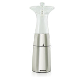 Salt and Pepper Mill | Muti-Purpose | Clear Acrylic and Stainless Steel | Lily | Swissmar