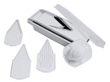 Swissmar V-Prep™ Mandoline Slicer product shot with all pieces shown