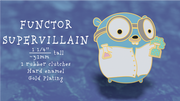Functor Supervillain Pin