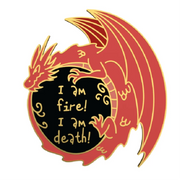 Smaug - Lord of the Rings Enamel Pin