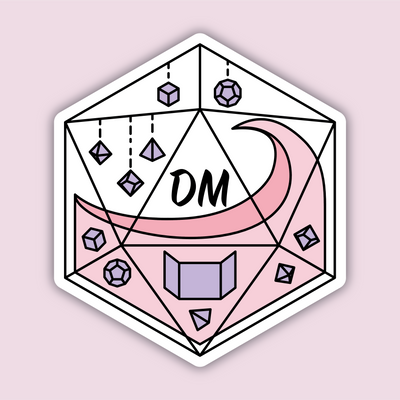 Glass Classes DM Sticker