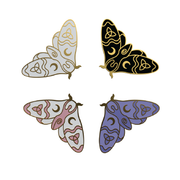 Moth - Witchy Enamel Pins