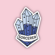 Glass Classes Sorcerer Sticker