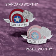 Captain America - Marvel Enamel Pin