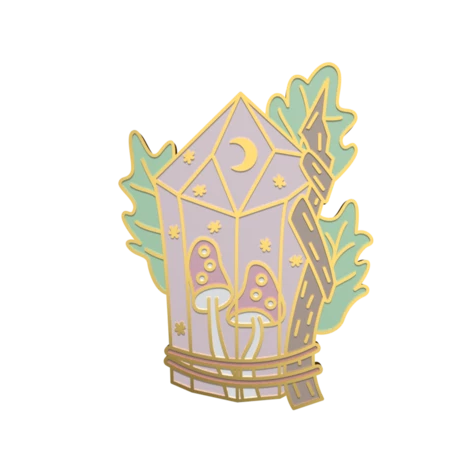 Crystal Magic Pin