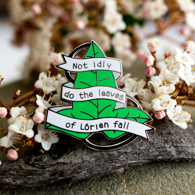 Lothlorien - Lord of the Rings Enamel Pin
