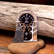 The Doors of Durin - Lord of the Rings Enamel Pin